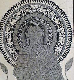 釈迦絵像 スリランカ