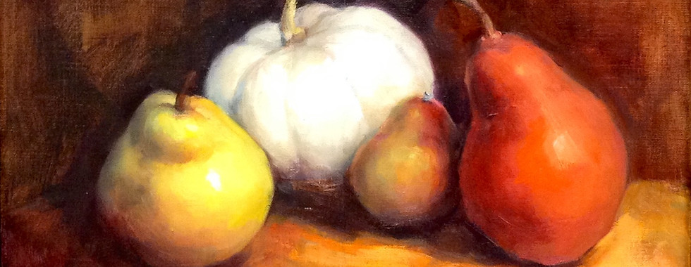 Pears and Pumkin