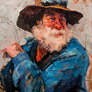 An old man *SOLD