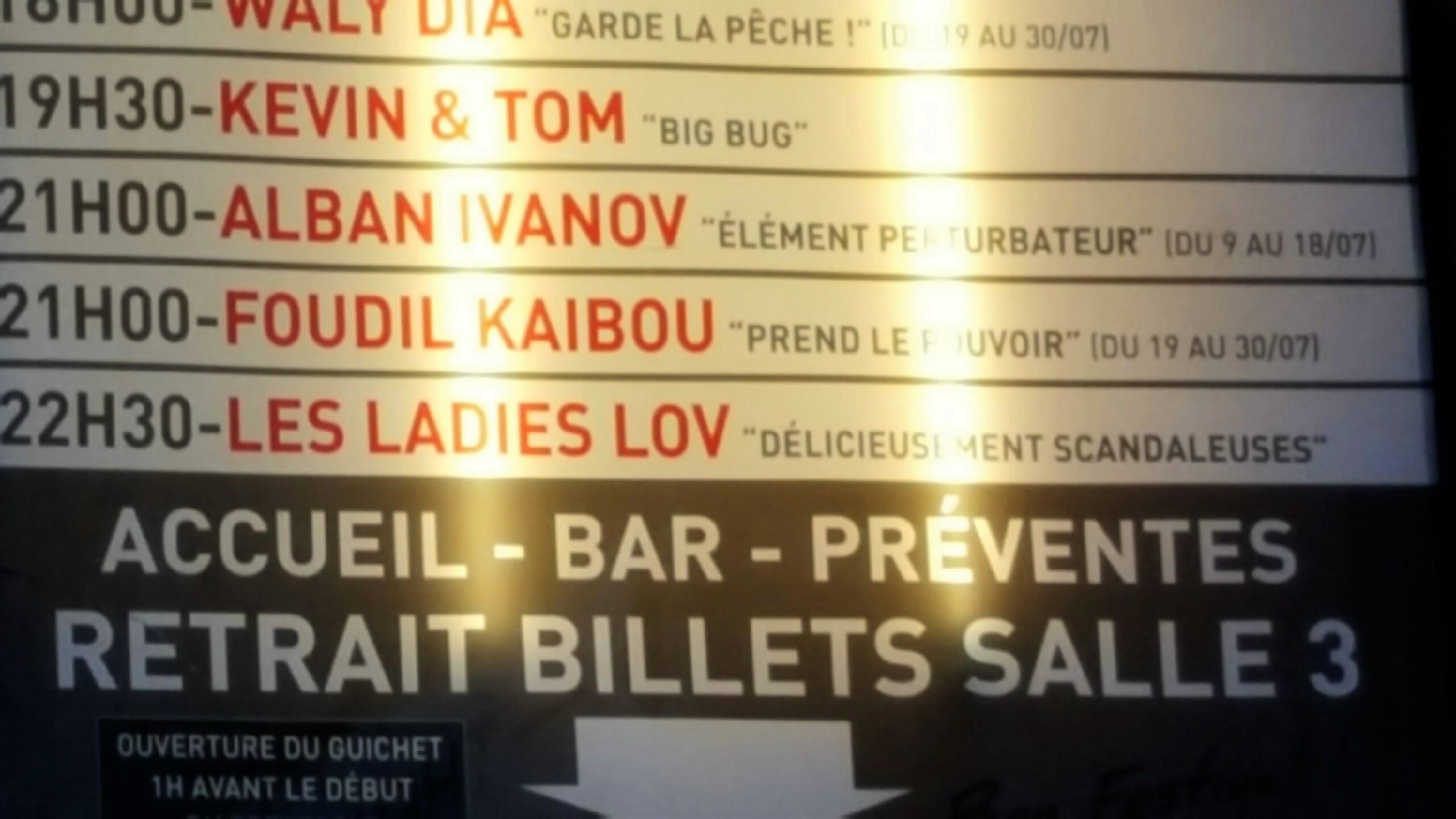 Au Théâtre le Paris