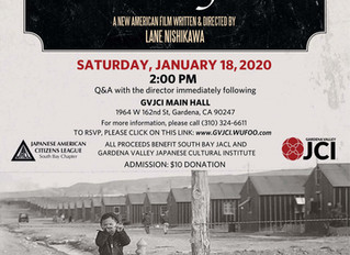 Our Lost Years film showing in Gardena on January 18th