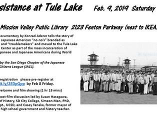 Resistance at Tule Lake Screening