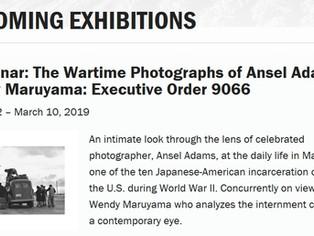 Manzanar: The Wartime Photographs of Ansel Adams & Wendy Maruyama: Executive Order 9066 Exhibit