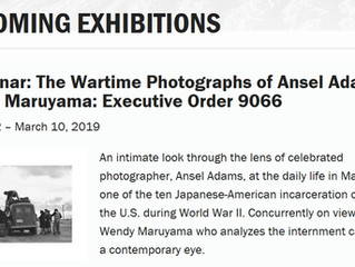 Manzanar: The Wartime Photographs of Ansel Adams & Wendy Maruyama: Executive Order 9066 Exhibit