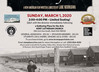 Our Lost Years Kent, WA Film Showing Sunday March 1st