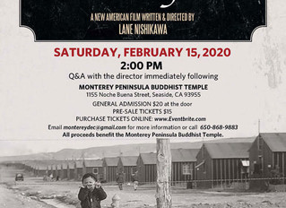 Our Lost Years Film Showing in Monterey, CA Saturday February 15th