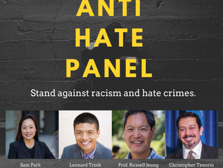 Attend the PALSD Anti-Hate Panel Thursday May 21st