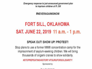 Japanese Americans Speak Out Against Designation of Fort Sill to Detain Migrant Children