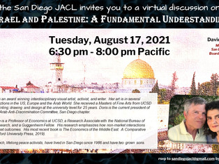 Join the SDJACL for Israel and Palestine: A Fundamental Understanding