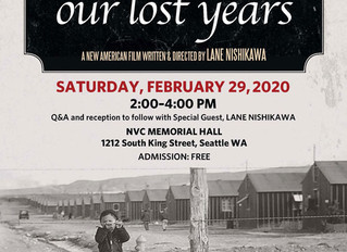 Our Lost Years Seattle Film Showing Saturday February 29th