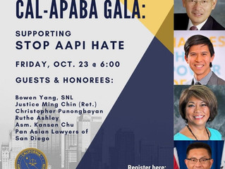 Join the CAL-APABA Gala to stop AAPI Hate
