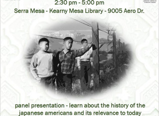 An Introduction to Japanese American History Event Saturday February 15th