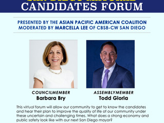 Attend APAC's Mayoral Candidates Forum