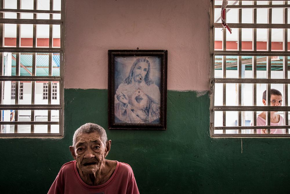 Josefina Zapata cierpi na psychozę i epilepsję. Meridith Kohut dlaThe New York Times