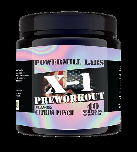 X-1 Pre-Workout