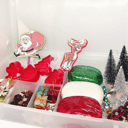 Christmas Themed Playdough Kits