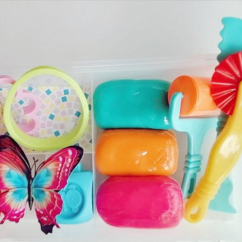 Butterfly Beginner Playdough kit