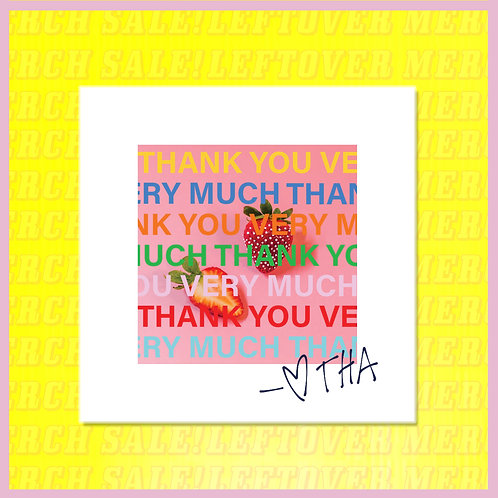 'Thank You Very Much' CD