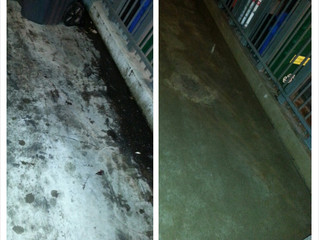Pressure Washing in San Francisco Dumpster Grease Cleaning