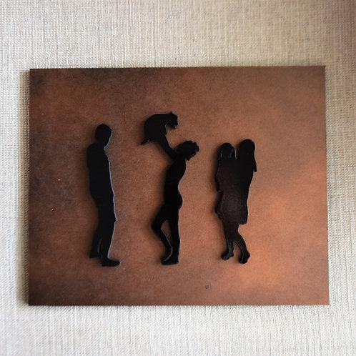 Family Silhouette Art