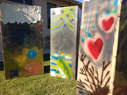 Youth Art Expression Totems