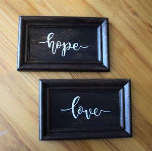 215 hope love sign