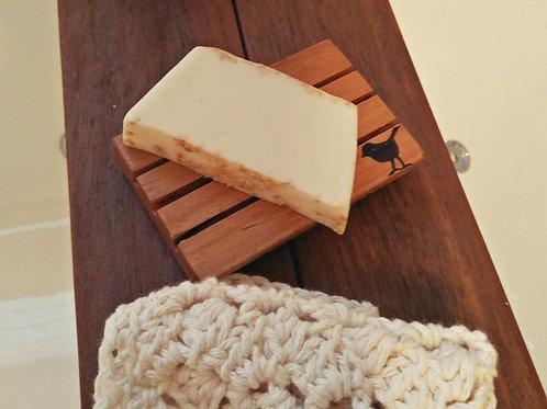 Broken and Restored handmade soap