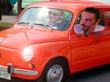 """Kuvat: Boosebergin kilpaveli kaahaa ökyautollaan hirmuista kyytiä: """"Uskallanko edes sanoa"""""""
