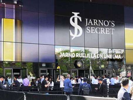 Jarno's Secret -verkkokaupan avajaiset vetivät väkeä jonoksi asti