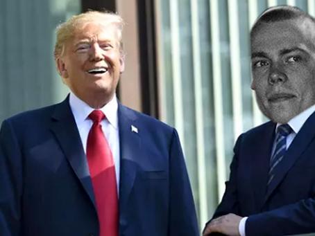 Boss-Mäkise vitsi nauratti Trumpia Kortepohjan parvekkeella