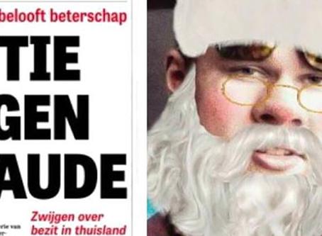 De Telegraaf uutisoi tietovuodosta - Jos Börstappen onkin joulupukki?