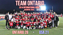 International Bowl Champs!!