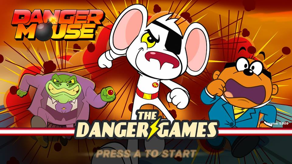 Review #016: Danger Mouse: The Danger Games (Nintendo Switch)