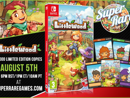 Week of August 1st, 2021 Nintendo Switch Physical Releases & Limited Pre-Orders