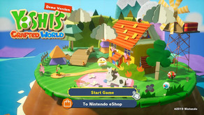 [Game Preview] Yoshi's Crafted World Demo (Nintendo Switch)