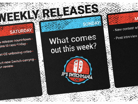 Week of August 16th, 2020 Nintendo Switch Physical Releases & Limited Preorders