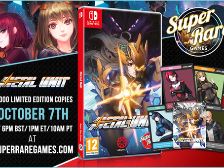 Week of October 3rd, 2021 Nintendo Switch Physical Releases & Limited Pre-Orders