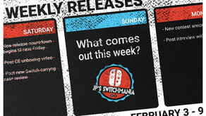 Week of February 3rd, 2019 Nintendo Switch Physical Releases & Limited Preorders