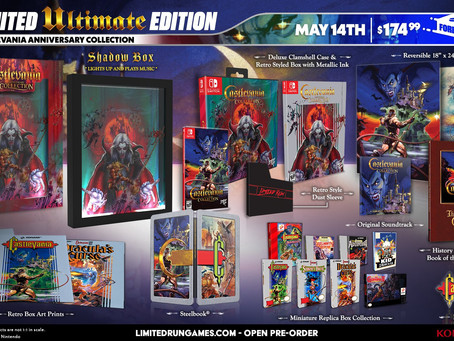 Week of May 9th, 2021 Nintendo Switch Physical Releases & Limited Pre-Orders