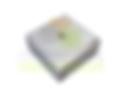 Pastilha de Alumínio Quadrada com seção de 50mm