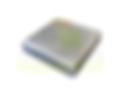 Pastilha de Alumínio Quadrada com seção de 100mm