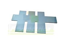 Espátula para Funil e Fôrmas Prismáticas com 4x4x16cm