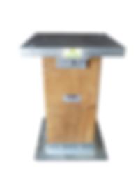 Pedestal com Coluna para Molde e Soquete Marshall
