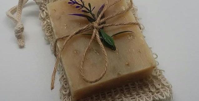 Soap & Sisal Soap Bag Set