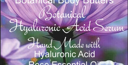 Botanical Hyaluronic Acid Serum