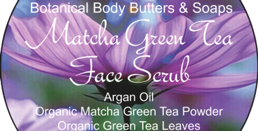 Matcha Face Scrub
