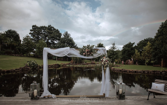 Ceremony Area Frame Jetty