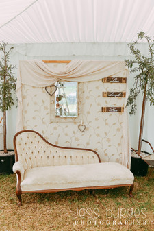 Backdrop _ Chaise Lounge _ Wall _ Vintage