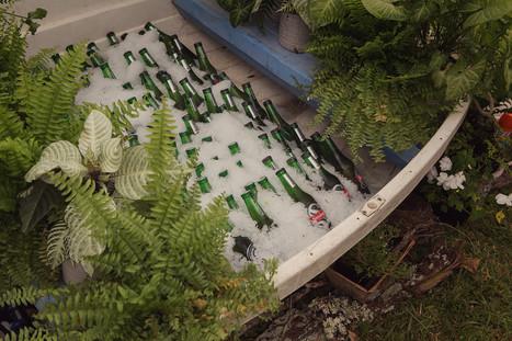 Beer Garden _ Dingy _ Beer _ Pot Plants
