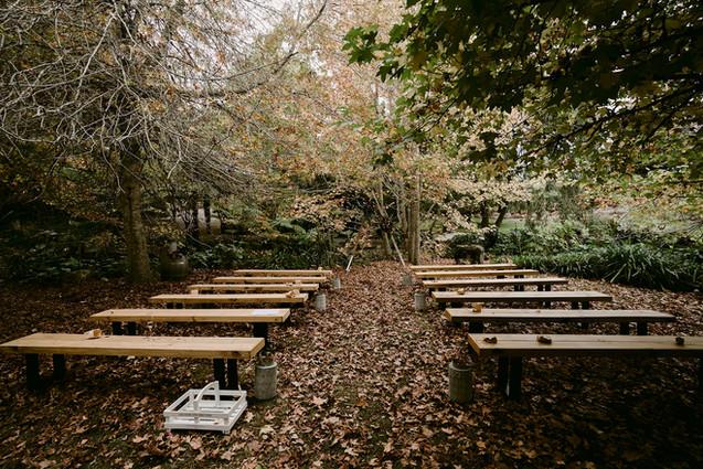 Woodland Ceremony site